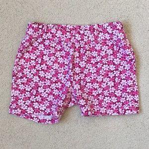 Girls Gap Floral Printed Cartwheel Shorts XS 4-5